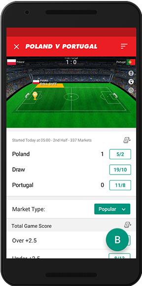 Sun Bets app