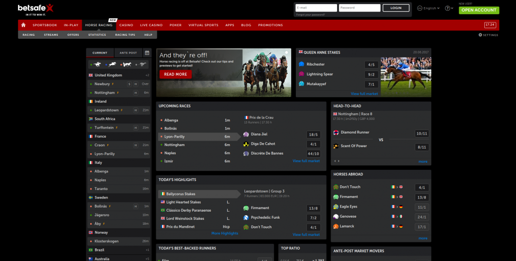 Betsafe Horse Racing