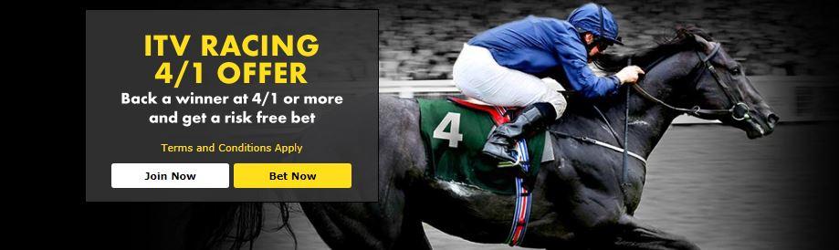 bet365 ITV Racing 4/1 Offer