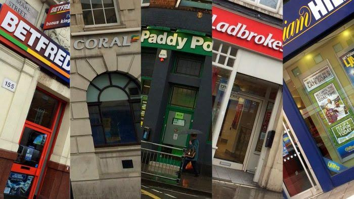 Bookmakers Shop Fronts