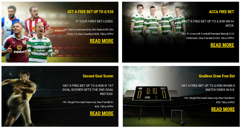 Dafabet Betting Offers