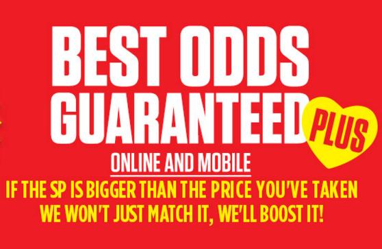 Ladbrokes Best Odds Guaranteed Plus