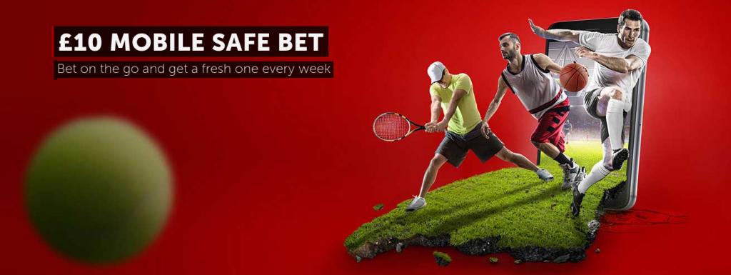 Betsafe £10 Mobile Safe Bet