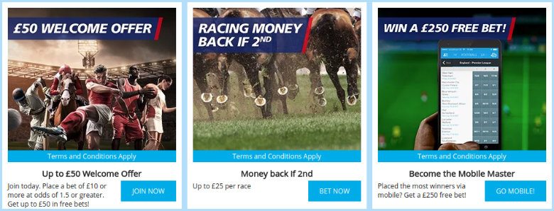 Sportingbet Betting Offers