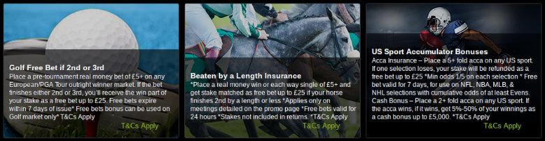 Titanbet betting offers