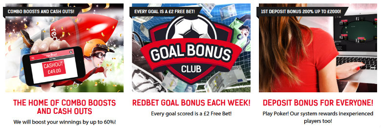 Redbet betting offers