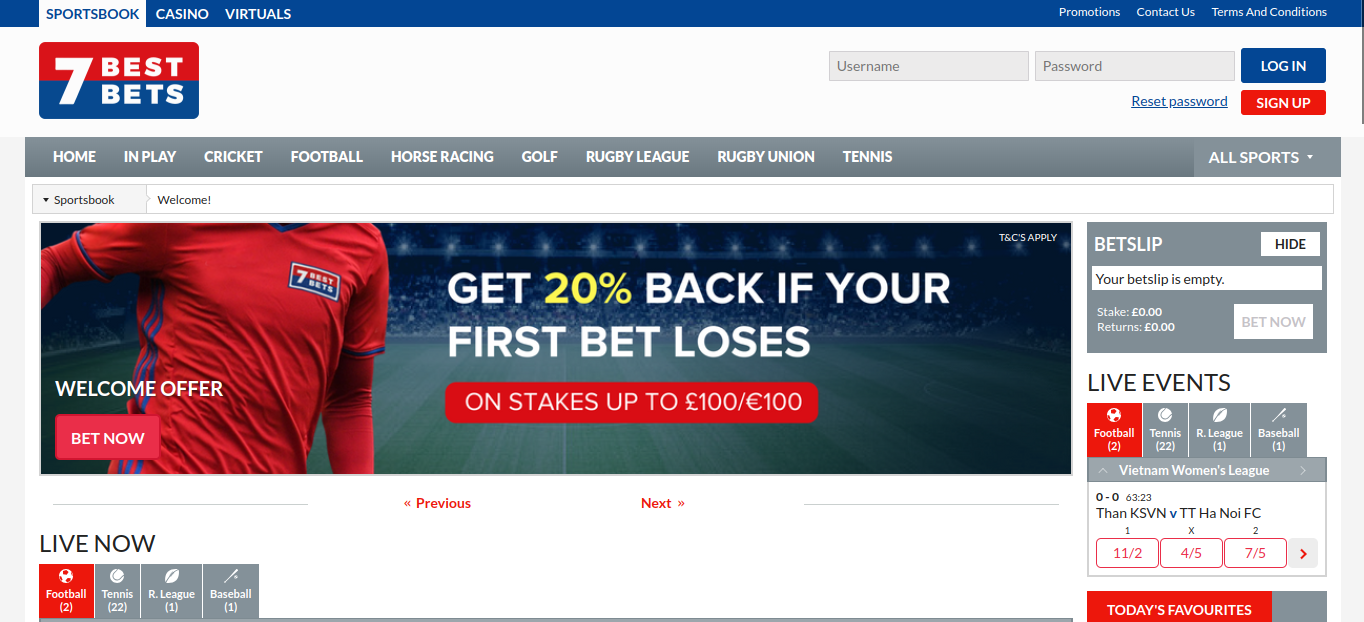 7 Best Bets website