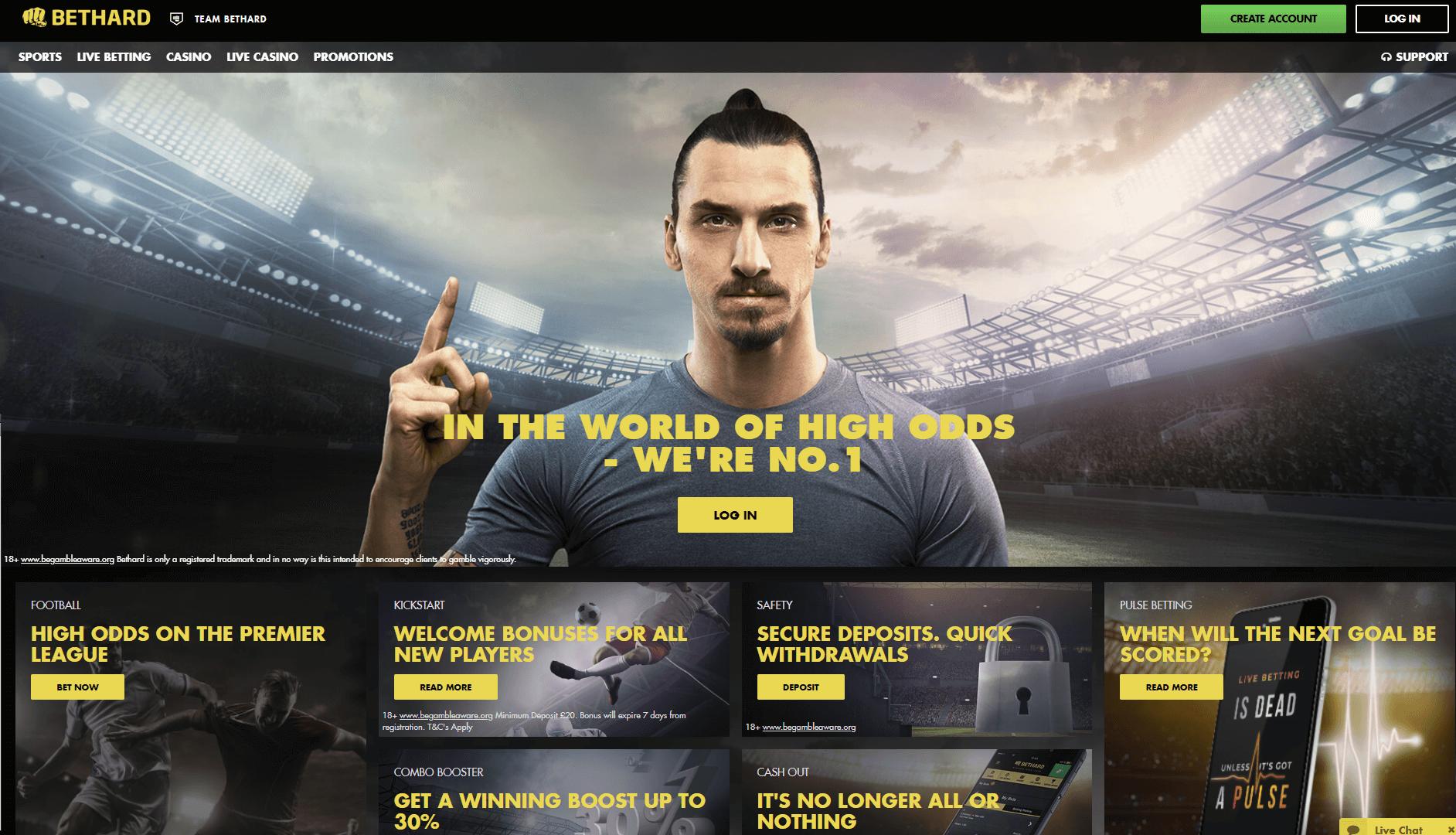 bethard homepage