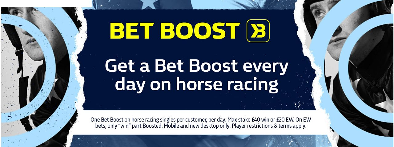 william hill horse racing bet boost