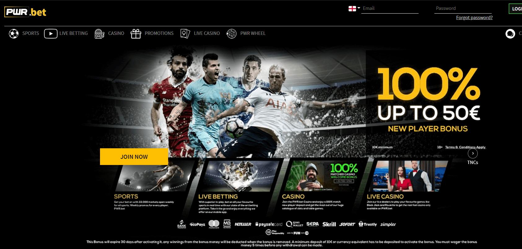 pwr homepage