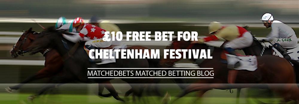 Free Cheltenham Bet