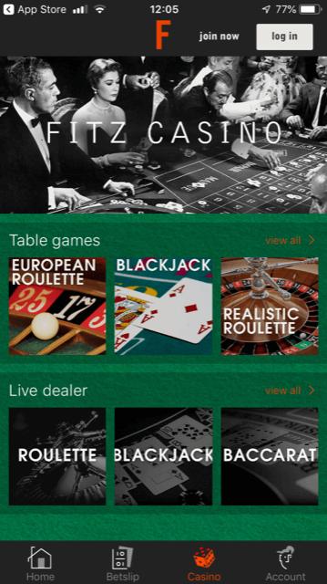 fitzdares app