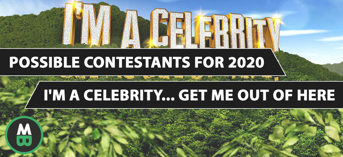 2020 I'm a Celebrity Get Me Out Of Here contestants