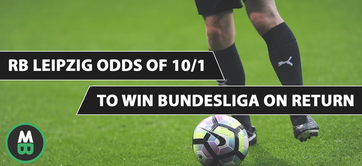 RB Leipzig Odds Of 10/1 To Win Bundesliga On Return