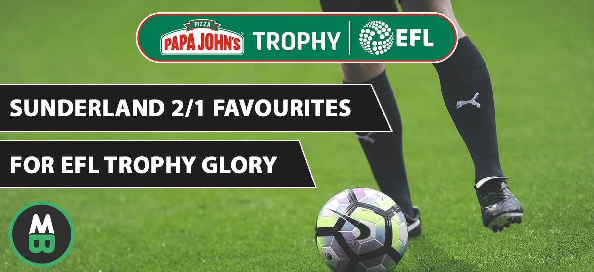 Sunderland Favourites For EFL Trophy