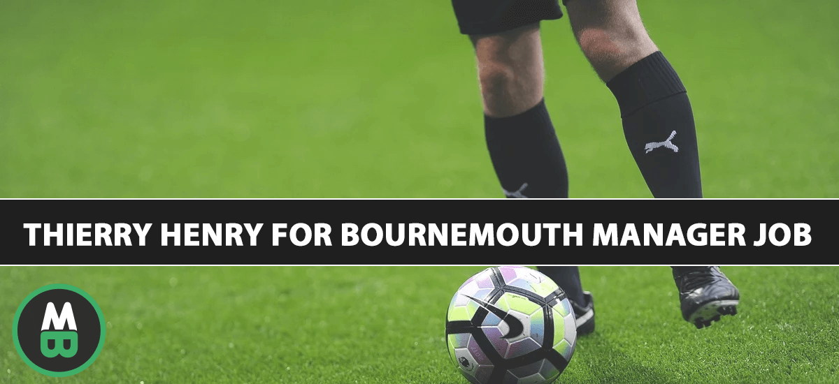 Thierry Henry For Bournemouth Manager Job